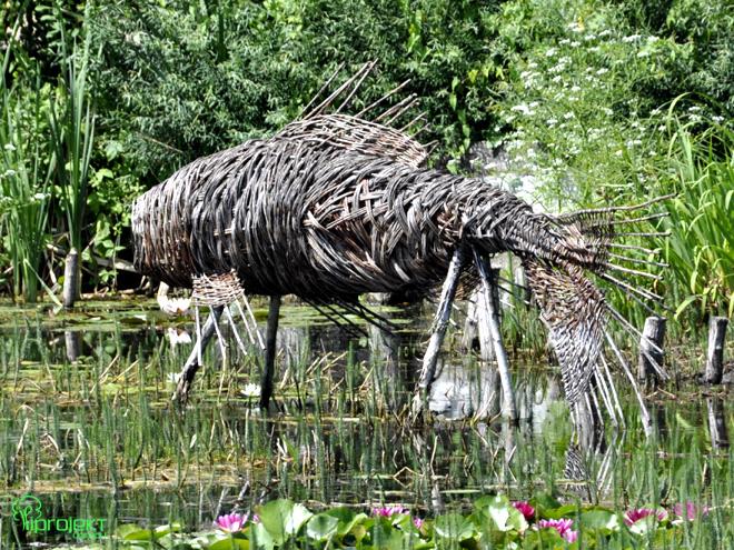 ryba wiklinowa rzeźba IPROJEKT