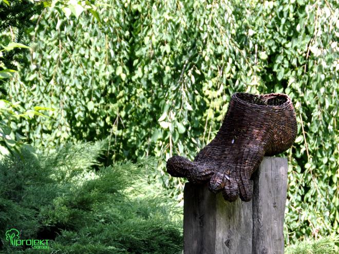 stopa wiklinowa rzeźba IPROJEKT